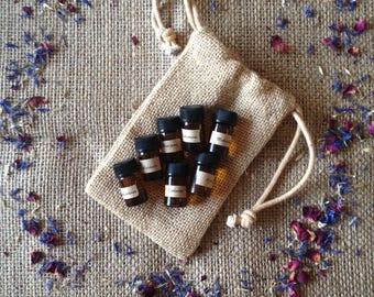 Chakra oil set