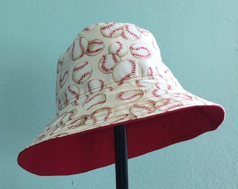 Baseball Hat Bucket Style Sun Hat for Babies and Kids!