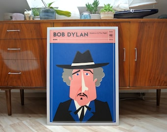 bob dylan | A2 screen print poster | limited of 40