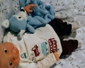Full-Body ecoflex 20 silicone baby boy boo boo