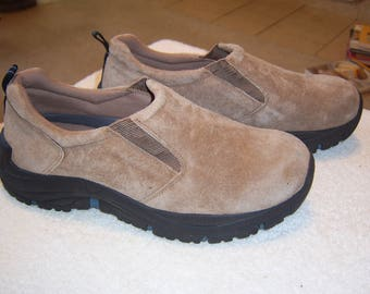 Men's Bass Suede, Slip-on Casual Shoes
