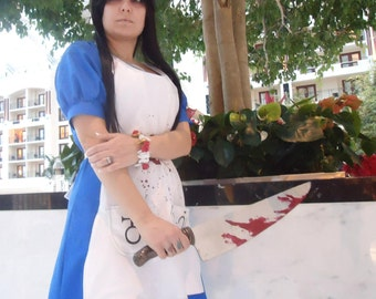 Dark Alice American McGee's Alice of Madness the Madness Returns Cosplay Costume LARP