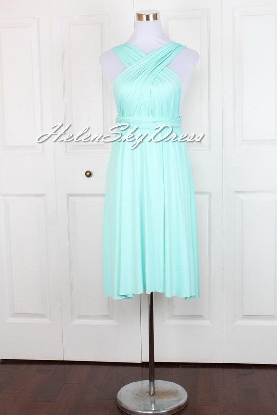 Brautjungfer Cabrio Kleid Infinity Kleid Multiway Wrap Kleid