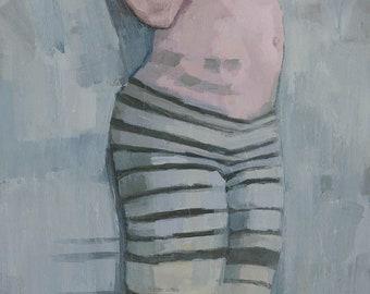 Tribe, Original Female Figure Painting