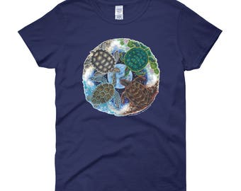 Turtle Totem Earth Guardian Women's t-shirt
