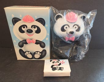 Avon Randy Pandy Floating Soap Dish and Soap NIB NOS Vintage Avon Gifts