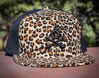 Stangl Bomb Logo Cheetah Print Snapback Hat