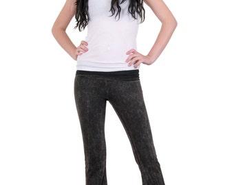 Acid Washed Yoga Pants