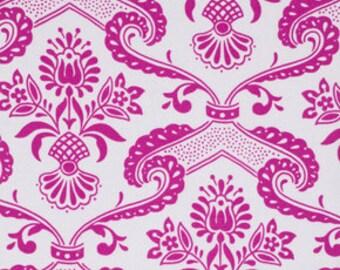 Last Yard CIRCA Fabric by Jennifer Paganelli 1 Yard Lilly in Rose