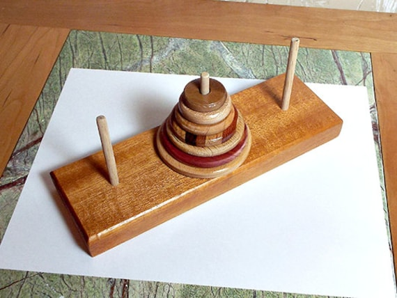 26. The Hanoi Tower Handcrafted Game