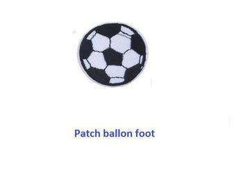 Soccer ball patch badge