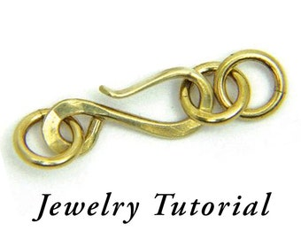 Hammer Forged S-clasp Jewelry Tutorial