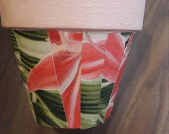 set of 3 decorative flower pots