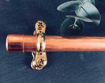 Copper & Brass Rail - 5 inch