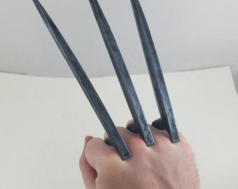 Duo Wolverine Claws Cosplay Set