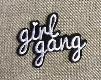 GIRL GANG Iron On