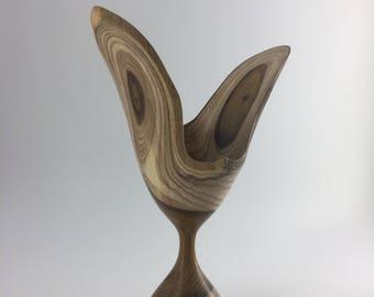Natural Edge Bird Sculpture