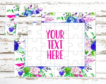 Create Your Own Puzzle - Pregnancy Announcement - Custom Puzzle - Personalized Puzzle - Announcement Ideas - Wedding Announcement - CYOP0068