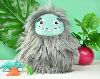 Fuzzy Friendly Stuffed Monster/Plush