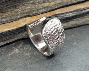 Sterling Silver Cuttlefish Ring