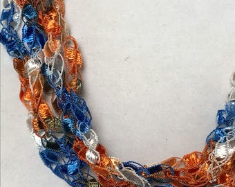 New! Champions - Hand Crocheted Necklace