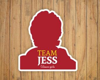 Team Jess (Gilmore Girls) Decal/Sticker