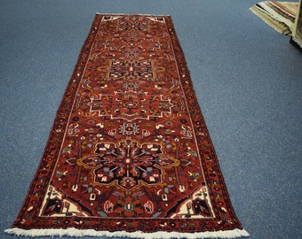 Persian Antique Meshkin hand knotted rug