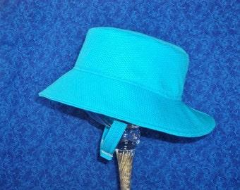 Baby Bucket Hat Carolina Blue 12-18 months