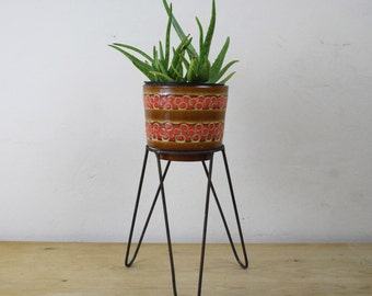Hairpin Metal Plant Stand