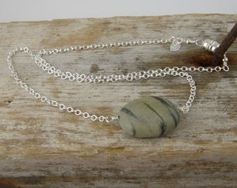 Simple Beach Rock Necklace