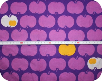Retro children's fabric with apples in vintage style NEW - Graziela style