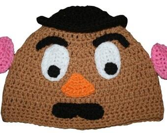 Hand Crocheted Potato Hat HH 136