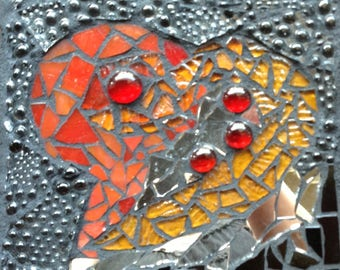 Glass Mosaic Heart