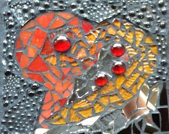 Glass Mosaic Heart