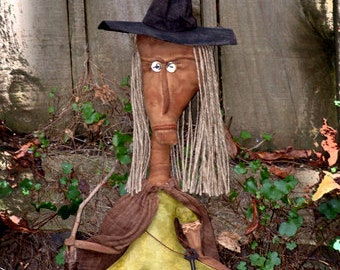 Isodora Gunther Woodland Witch Primitive E-Pattern