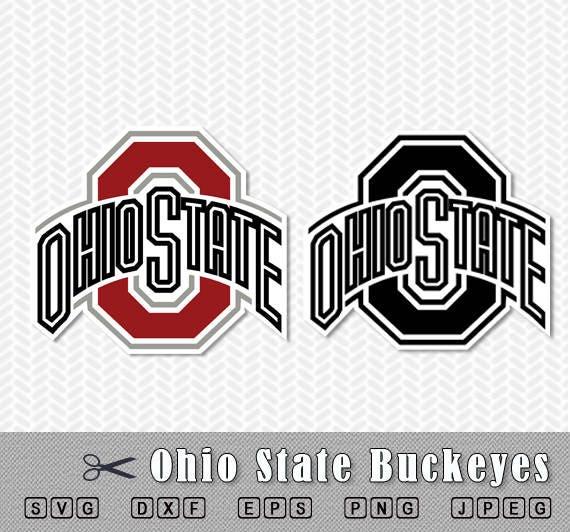Design Studio Logo Template: Ohio State Buckeyes Logo Layered SVG Vector Cut File