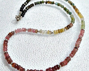 Tourmaline Necklace. Tourmaline jewelry.