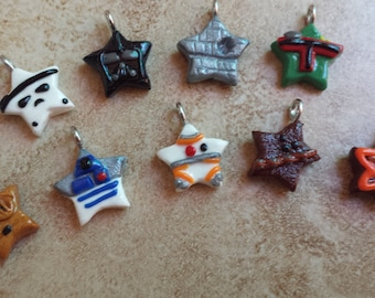 Star Wars Inspired Kawaii Star Necklaces