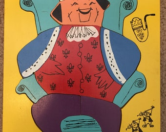 Old King Cole Wooden puzzle