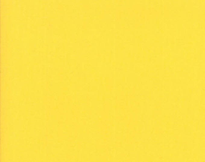 BELLA SOLIDS - Yellow - Solid Blender Cotton Quilt Fabric - from Moda Fabrics - 9900-24 (W4397)