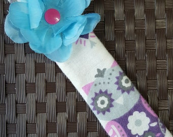 OWL FABRIC BOOKMARK