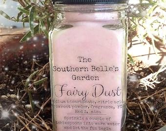 Fairy Dust Bath Powder - Cotton Candy Scented Fizzing Bath Soak