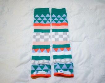 Geometric Baby Leg Warmers | Baby Leggings | Toddler Leggings | Baby Gifts | Leggings | Baby Pants | Gender Neutral | Modern Baby