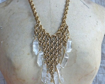 Crystal Bib Necklace III