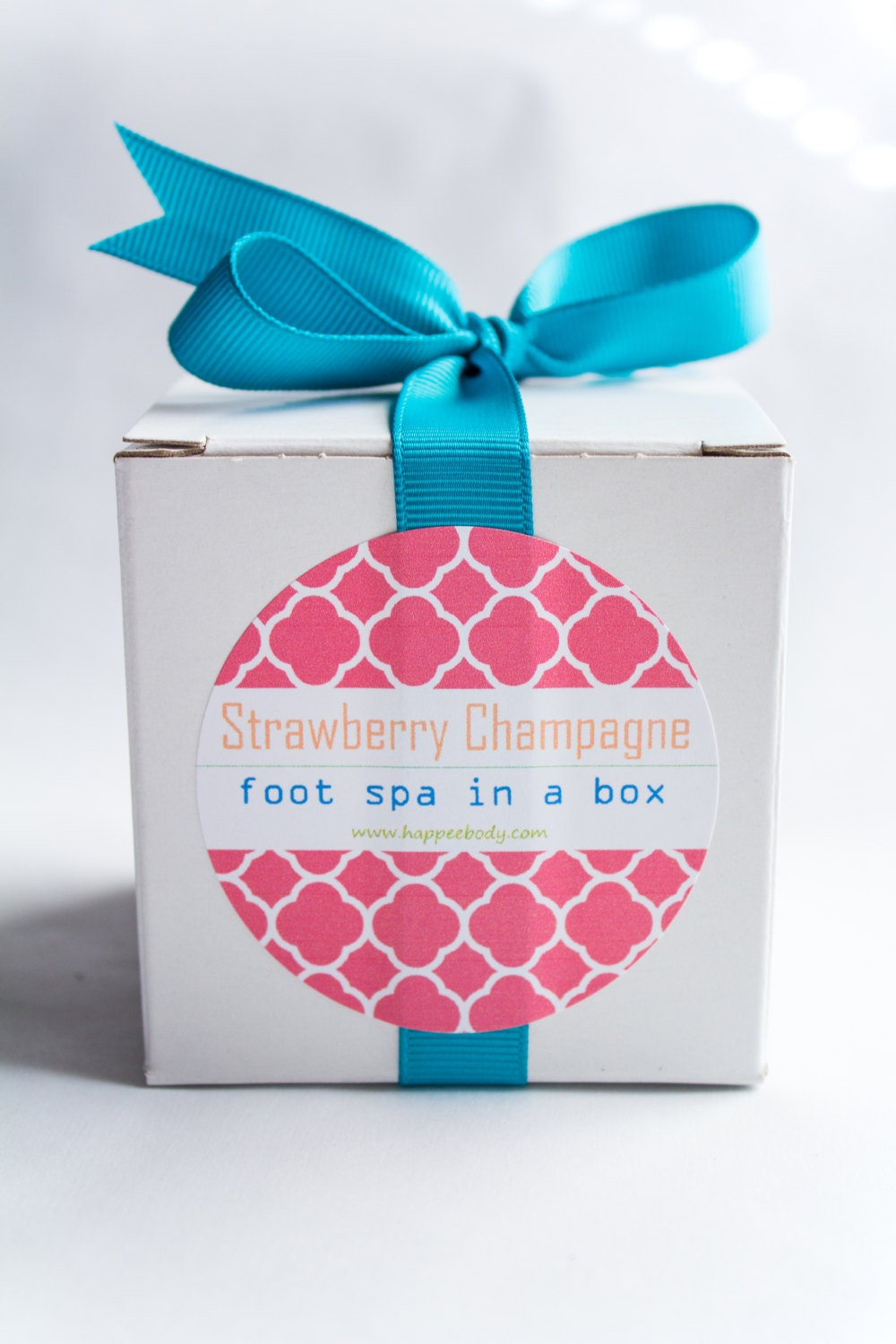 Strawberry Champagne Foot Spa-in-a-Box