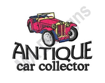 Car Collector - Machine Embroidery Design