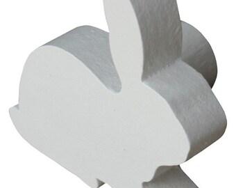 Rabbit Drawer Knob - Silhouette Rabbit Drawer Pull