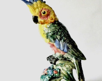 Stangl Pottery Bird - Large Cockatoo  #3584