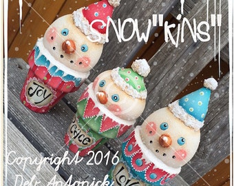 """Snow""""kins"""" - by  Deb Antonick, Painting With Friends E Pattern"""