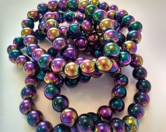 Mood Bead Bracelets (2) Mood Ring Color Changing Bracelets Set of 2